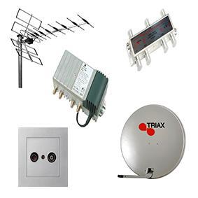 Antennes en satellietontvangers