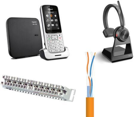 Telefoons en overige kantoorapparatuur