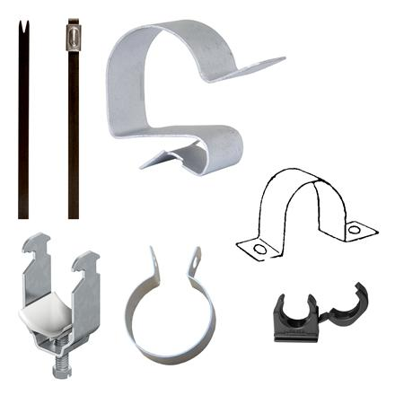 Montagemateriaal voor kabels en buizen
