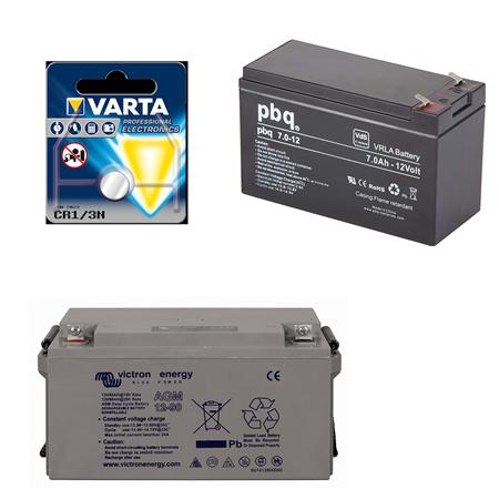 Batterijen, laders en laadkabels