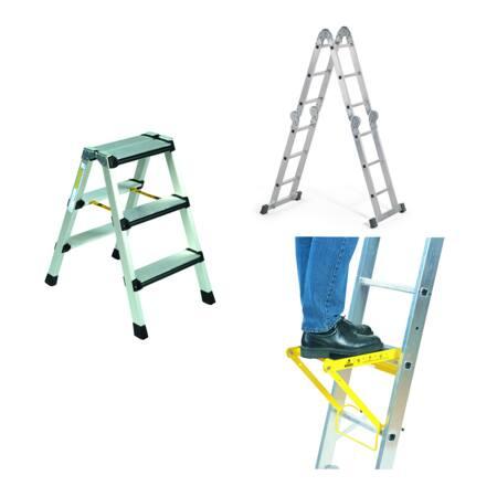 Steigers, ladders en accessoires