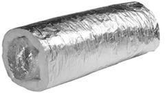 Aluminiumlaminaatslang geïsoleerd met spiraal