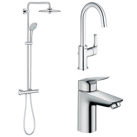 Kranen en douchesystemen