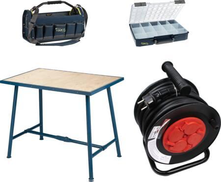 Werkplaatsinrichting en hulpmiddelen