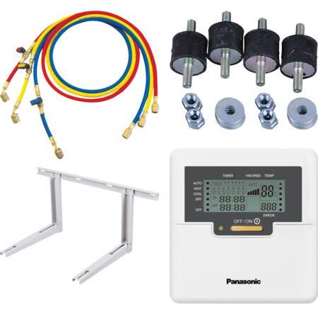 Accessoires en onderdelen voor warmtepompen en Airco