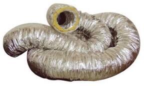 Aluminiumlaminaatslang ongeïsoleerd met spiraal