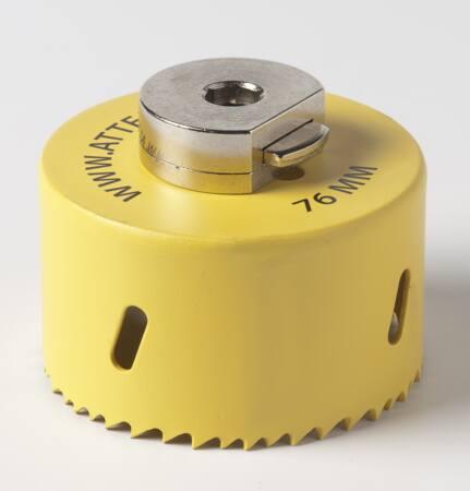 In combinatie met Attema centerboor (art. 2881) voorzien van uniek Drill & Drop systeem voor eenvoudig verwijderen van de boorprop.
