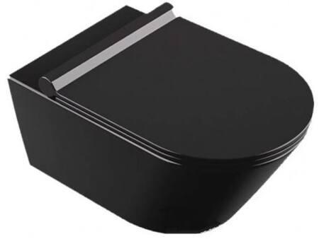 Catalano newZero wandcloset 55X35 cm, mat zwart