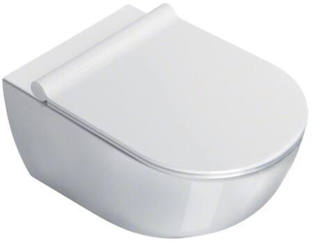 Catalano Sfera 54 New Flush keramisch wandcloset, diepspoel zonder spoelrand. Kleur wit.