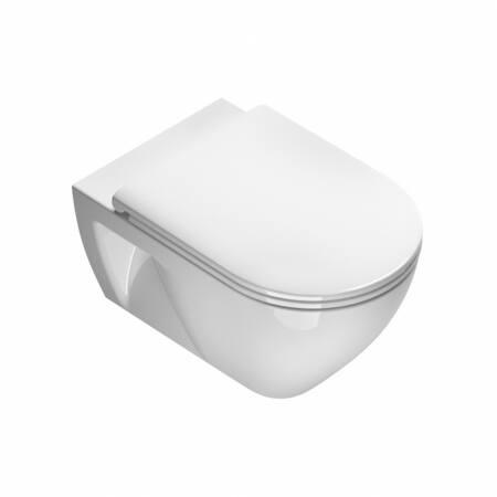 Catalano Sfera Eco New Flush 55 wandcloset, glanzend wit