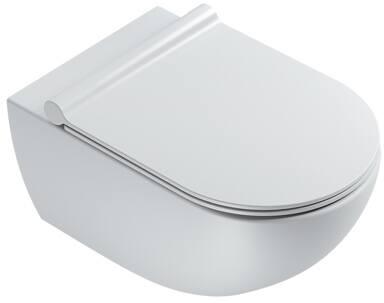 Catalano Sfera New Flush 55 wandcloset 4,5 liter, incl. bevestigingsset, mat wit