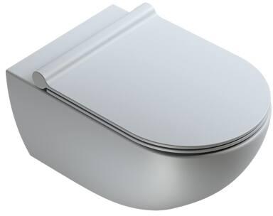 Catalano, Toilet wand, Sfera, wand, zonder rand, 54X35 cm, mat cement.