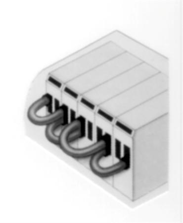 Cimco tweeling-adereindhuls, 0.5mm2, hulslengte 8mm, geïsoleerd, koper, vertind, PP, wit, AWG20