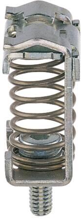 Conta-Clip Aansluitclip, afgeschermd, oppervlakte montage, 18x12,4x36 (LxWxH), staal, 3-8mm kabeldiameter.