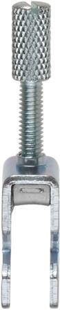 Conta-Clip Aansluitclip, afgeschermd, rail montage, 0,4 Nm, 19,5x946,8 (LxW), staal, 2-5mm kabeldiameter.