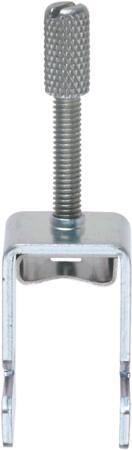 Conta-Clip Aansluitclip, afgeschermd, rail montage, 0,8 Nm, 19,5x2475 (LxW), staal, 3-20mm kabeldiameter.