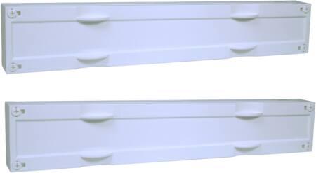 Hager, Gesloten din-rail unit horizontaal ledig 150x500mm
