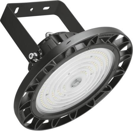 Ledvance High Bay Halstraler LED 95W/4000K, 13000lm, CRI>80, stralingshoek 90?, 50.000uur, IP65, IK08, zwart