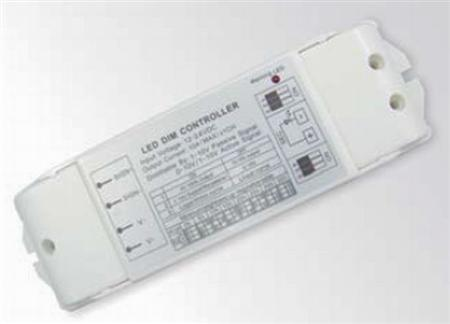 Glow/Mini Glow 24V/DC dim controller, t.b.v. dimmen ledstrip in combinatie met bestaande 1-10V dimmer