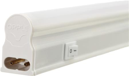 Opple EcoMax LED E T5 batten 300 S BL 4,5W/3000K, 400lm, CRI=80, stralingshoek 140?, IP20, white