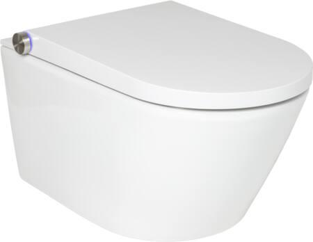 Solar douche wc, wit, bouwwijze wandcloset, bedieningswijze afstandsbediening, nom. binnendiameter koud tapwater 3/8