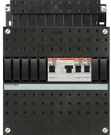 ABB HAF Installatiekast 220x220mm, 3-groepen 1-fase, 1xALS, 1 direct