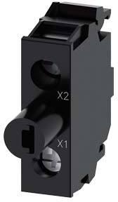 SIEMENS LED-module met geintegreerde LED, bodemmontage, amber, 24 - 230 V AC / DC, schroefaansluiting