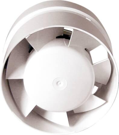 Solar Buis ventilator 100mm buis ventilator, 100 mm, capaciteit 105 m3/h