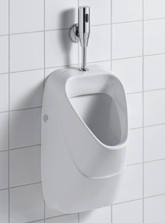 Sphinx 300 keramisch urinoir, met boven-inlaat, met onder/achter afvoer, 570x340x340mm, wit