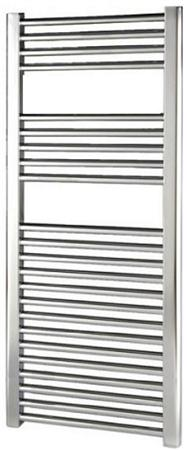 Thermrad Basic-4 handdoekradiator 764 x 500mm, chroom. Aansluitingen 4x 1/2