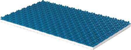 Uponor 1,25m2 noppenplaat 30-2mm blauw. Afname per 8 platen