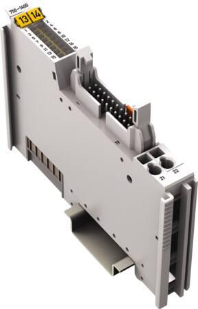 Wago 16-kanaals digitale ingangsklem DC 24 V 3,0 ms lintkabel positief schakelend