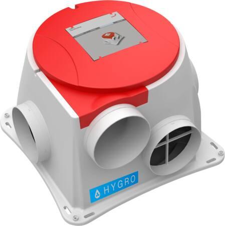 Zehnder ComfoFan S woonhuisventilator, (hxbxd) 280x386x386mm, energie-efficiëntieklasse A+, behuizing kunststof