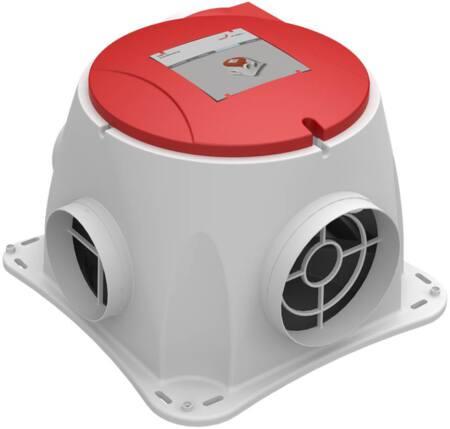 Zehnder ComfoFan S RP energiezuinige woonhuisventilator met Perilex steker en radiografische ontvanger, 350 m3/h