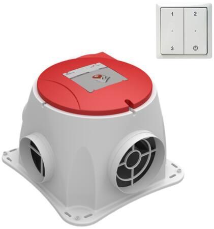 Zehnder energiezuinige woonhuisventilator.