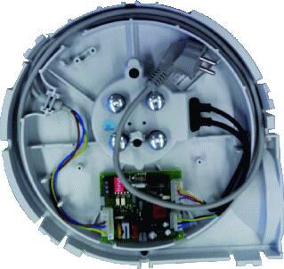 Zehnder Serviceset motor CMFe R, randaarde snoer, binnenwerk van ComfoFan S, vervangingsset voor CMFe R (RF print wel overzetten)